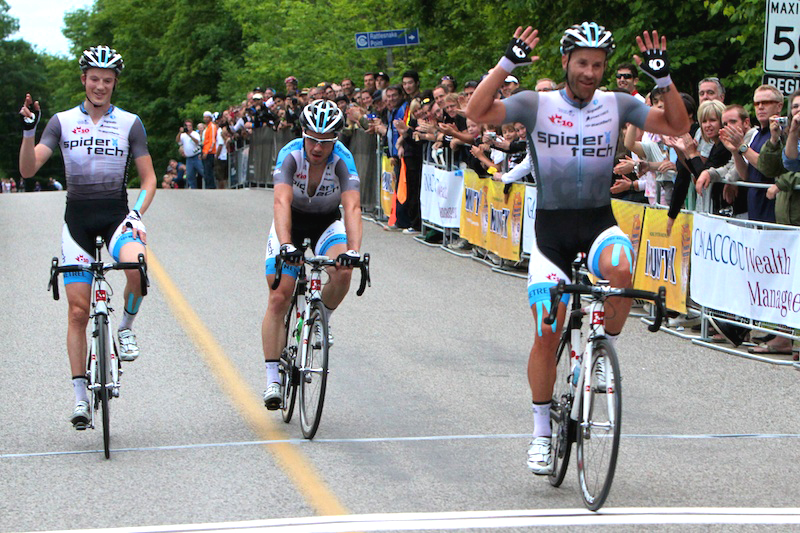 Tuft takes the win with Routley (far left) in second and Bell third.[P]Peter Kraiker/KraikerPhoto.com