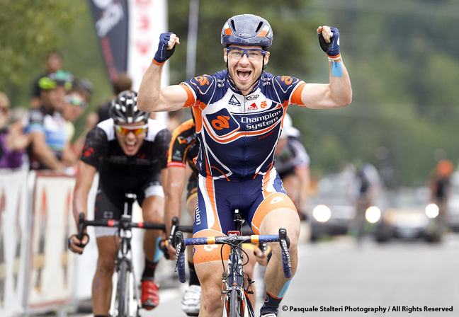 Zach Bell wins his first national road title in 2013 [P] Pasquale Stalteri