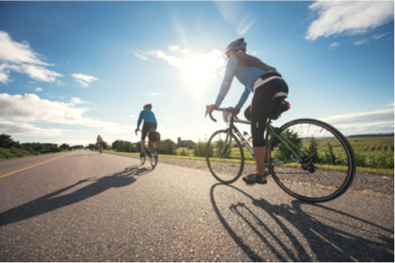 Discover new wonders by bike.  ©  the Waterfront Regeneration Trust