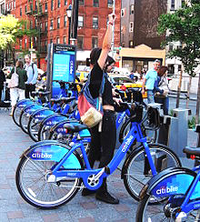 Citibike opens in New York in Spring 2013 [P] Wikipedia