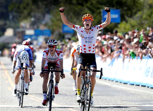 Routley takes the biggest win of his career - Amgen Tour of California 2014 stage 4 [P] Cor Vos