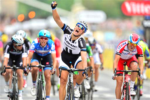 Kittel wins the final stage [P] Cor Vos