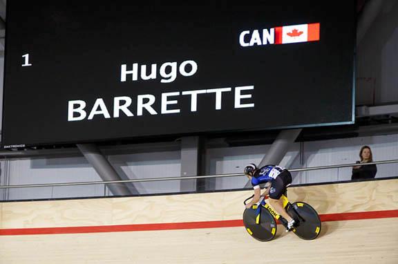 Hugo Barrette wins Men's Sprint [P] Ivan Rupes