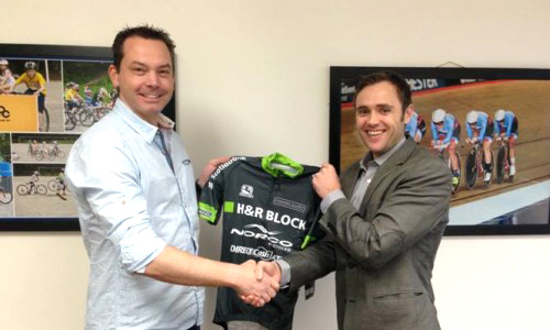 (l) Mark Ernsting (M1 Sports Management) and Richard Wooles (Cycling BC)  ©  Cycling BC
