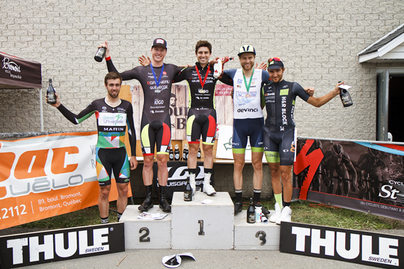 Senior Men's podium  ©  Pasquale Stalteri