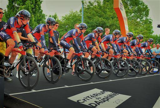 BMC lined up for the TTT [P] Cor Vos