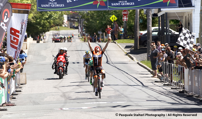 Canada's Ben Perry wins the final Stage 5 at the 30th Tour de Beauce  ©  Pasquale Stalteri