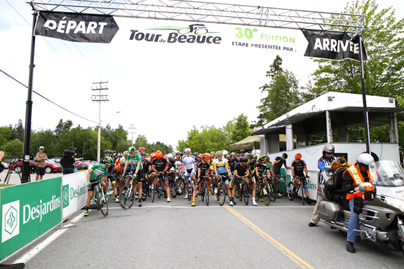 Start of 30th annual Tour de Beauce  ©  Pasquale Stalteri