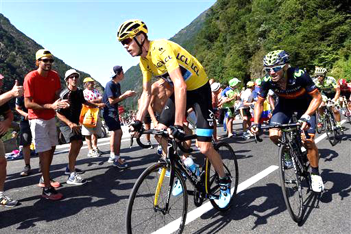 Froome (f) and Valverde [P] Cor Vos