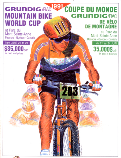 Grundig MSA World Cup 1991 Official Program [P] Pedal
