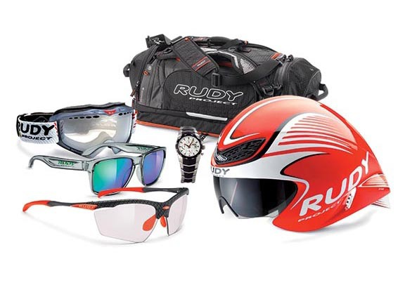 2nd Prize – Rudy Project Top Bundle-Helmets, Sunglasses, Watch, Goggles, Bag (value $2,150)