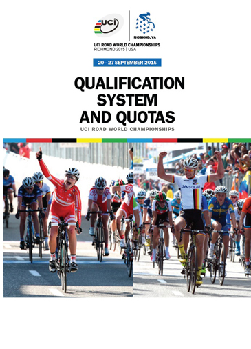 UCI Road Qual Systam and Quotas