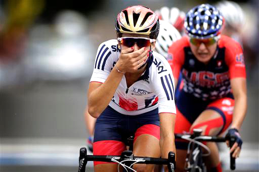 Armitstead can't believe she's won [P] Cor Vos