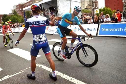 Sagan and Boonen [P] Cor Vos