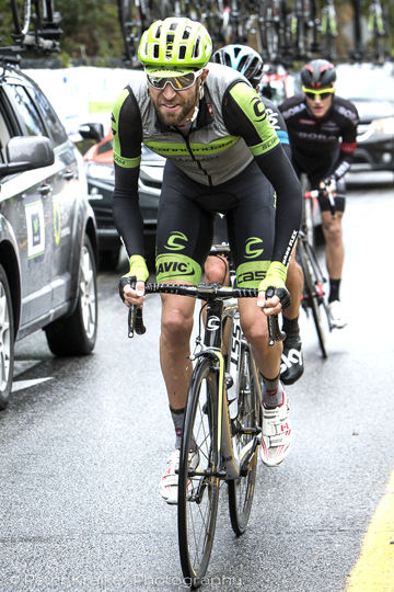 Hesjedal, the top Canuck in Quebec City, abandoned as well  ©  Peter Kraiker