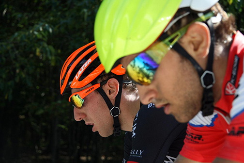 Woods and Piccoli working hard in the break [P]