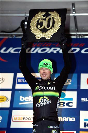 Sven Nys claims 50th World Cup [P] Cor Vos