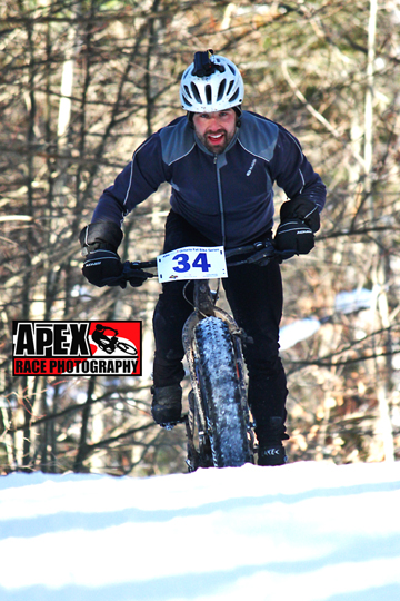A rider all smiles during The Snumbler [P] Apex Race Photography