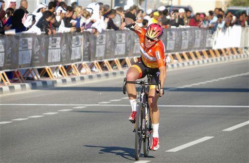 Ellen van Dijk wins Stage 3  ©  Cor Vos