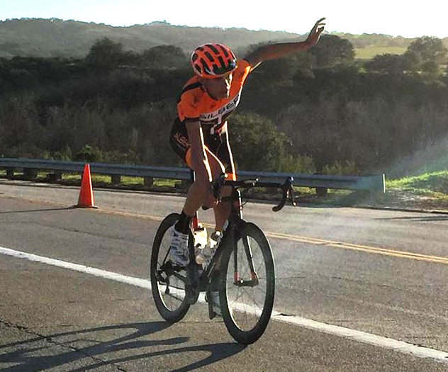 Mateo solos to victory [P] UCSB Cycling Team