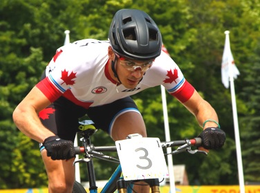 Raphael Gagne on his way to gold at the Toronto 2016 Pan Am Games  ©  Ivan Rupes