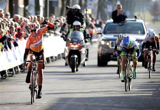 Blaak wins [P] Cor Vos