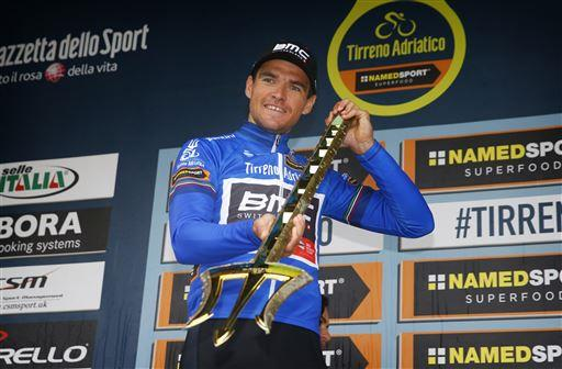Greg Van Avermaet (Bel) BMC wins the final GC [P] Cor Vos