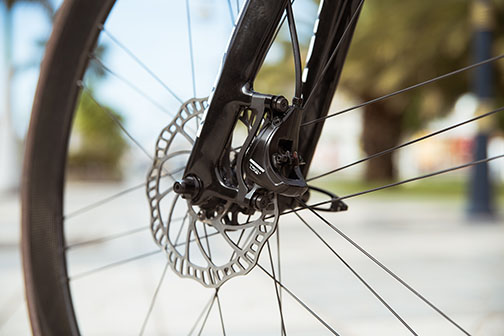 Campy's new disc brakes [P] Campagnolo