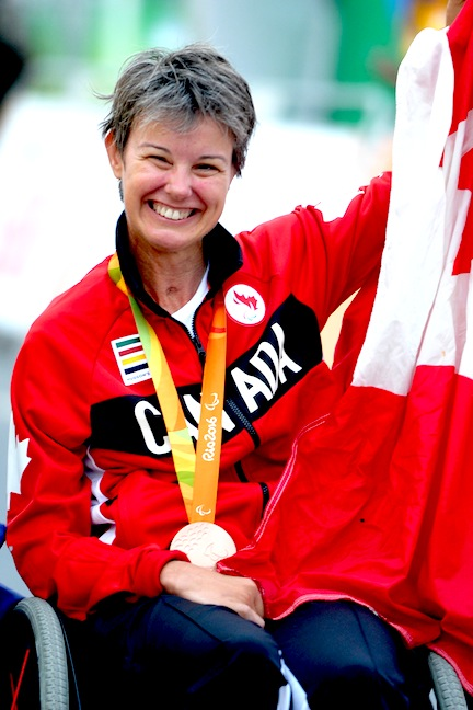 Shelley Gautier [P] Jean-Baptiste Benavent/Canadian Paralympic Committee