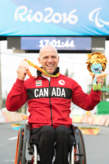 Charles Moreau  ©  Jean-Baptiste Benavent/Canadian Paralympic Committee