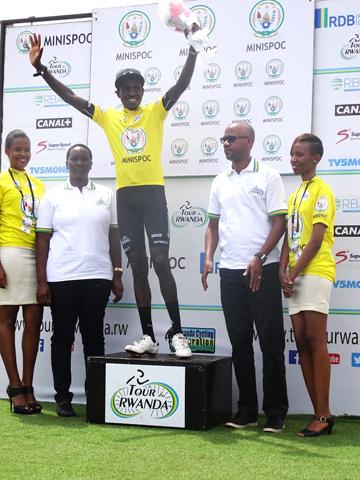Valens Ndayisenga in Yellow [P] Ben Andrew