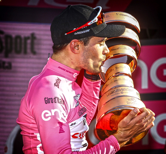 Dumoulin Wins 100th Giro D Italia For Historic Victory