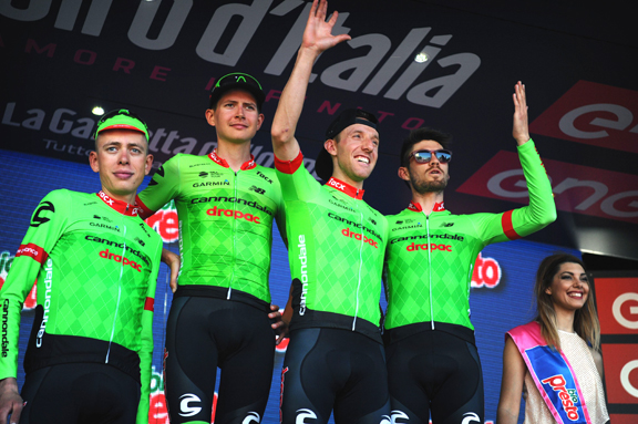 Team Cannondale Drapac wins Best Team after Stage 5  ©  Cor Vos