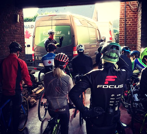 Pre-race Instructions  ©  Cycling Canada