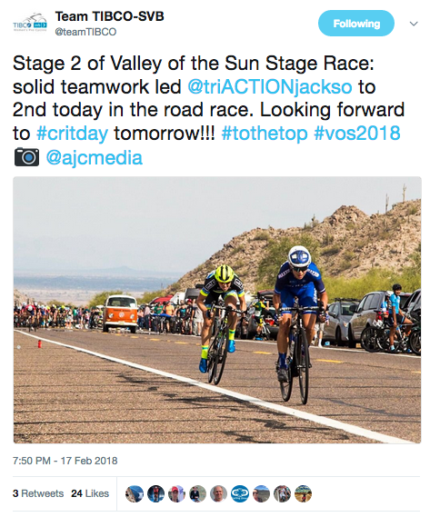 2018 Valley of the Sun Stage Race – White Mountain Road Club